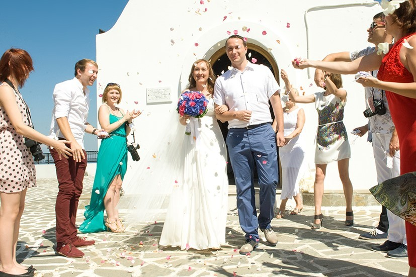 свадьба у ребят