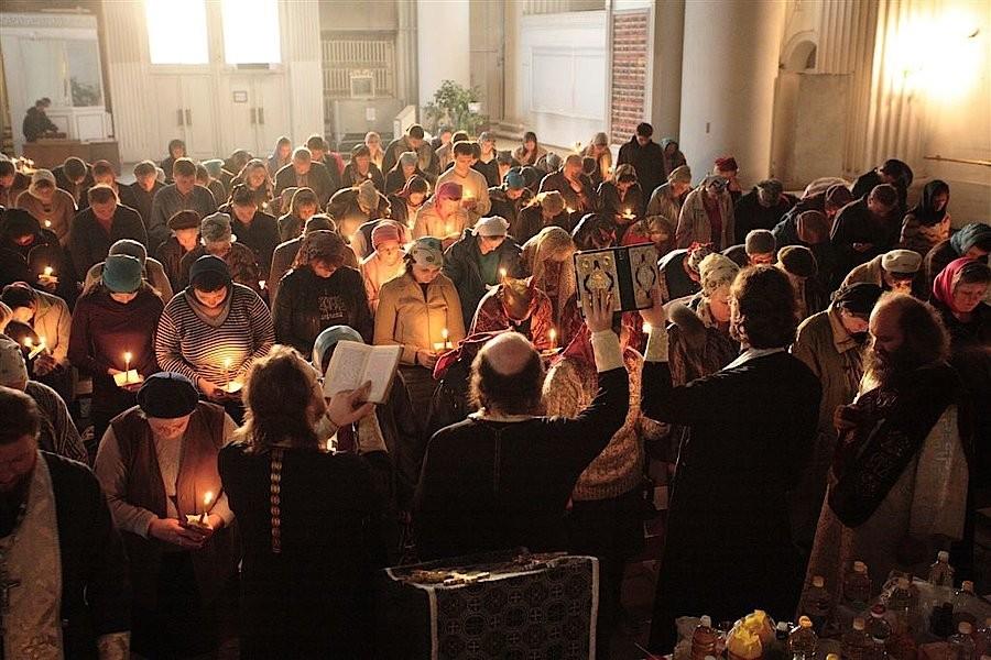 обряд в церкви