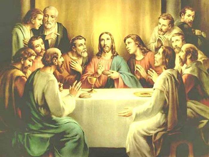 картина 12 апостолов
