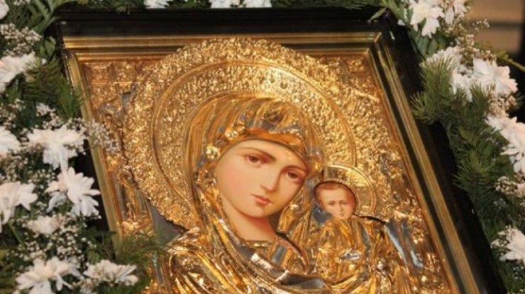 икона казанская богоматери