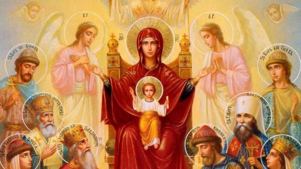 много святых