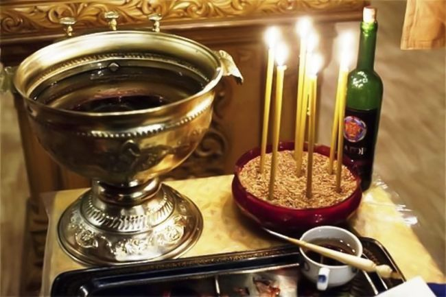 чаша и свеч