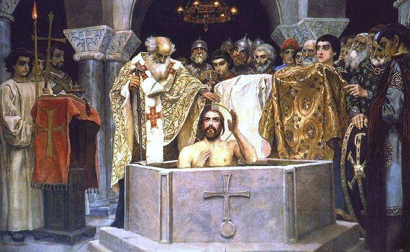 крещение взрослого