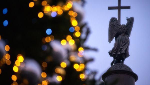 огни и крест