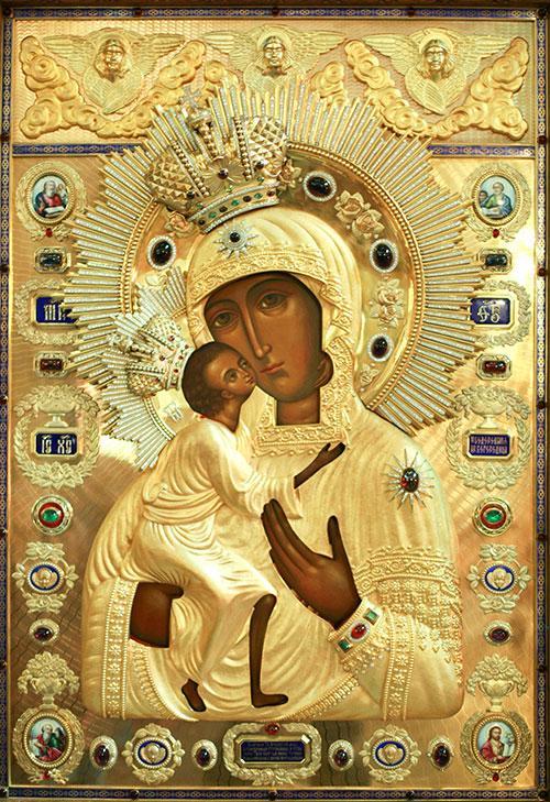 икона божией матери феодоровская