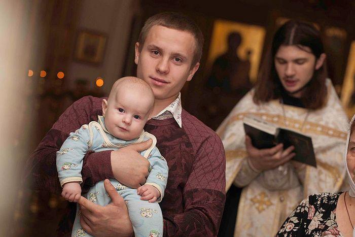 крестный и ребенок