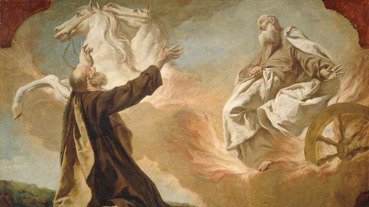 картина Илья Пророк