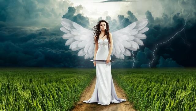 ангел на дороге