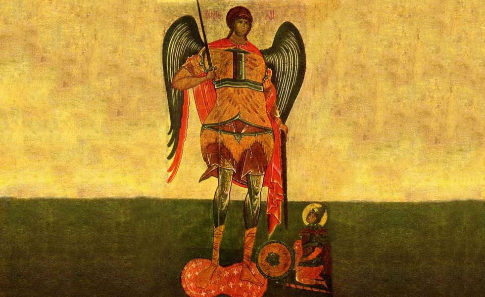 картина архангел михаил