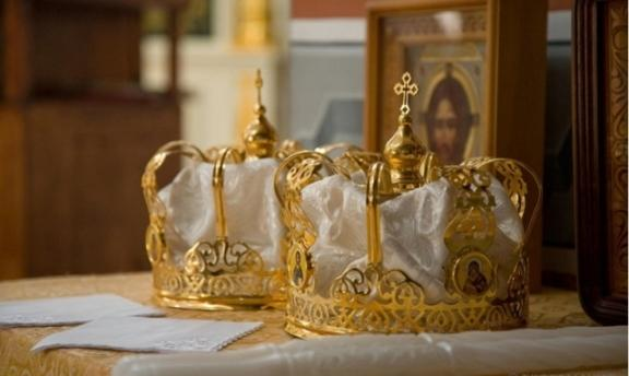 корона для венчания
