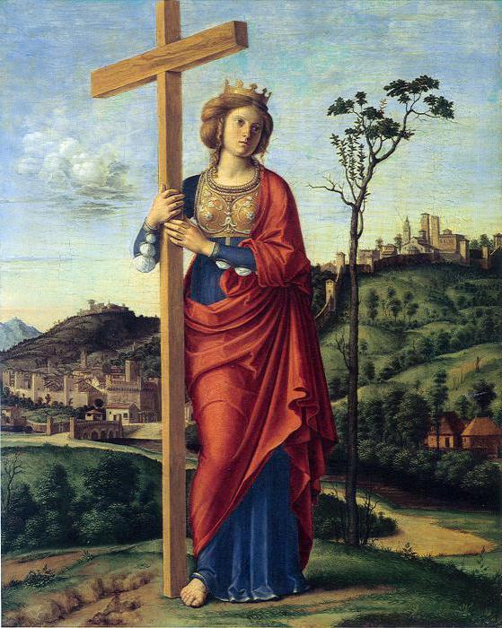 Святая Елена и крест