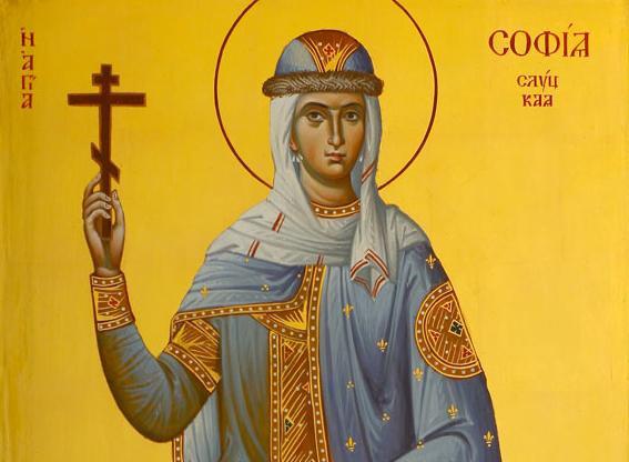 икона софия святая