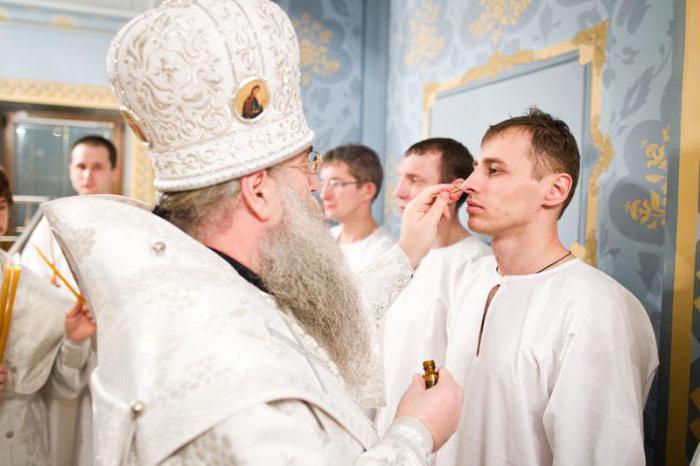 крещение взрослого человека