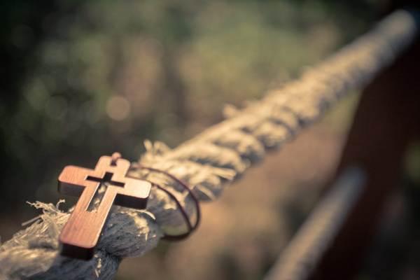 крест найден