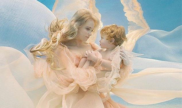 мама и ангел