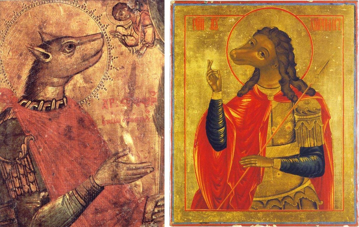 иконы христофор святой