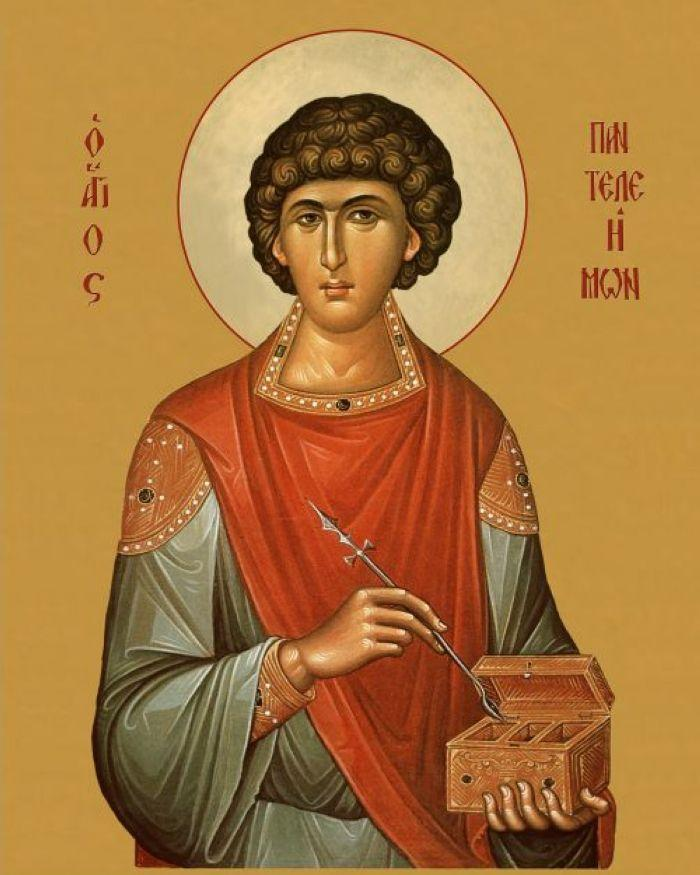 Великомученику и целителю Пантелеймону