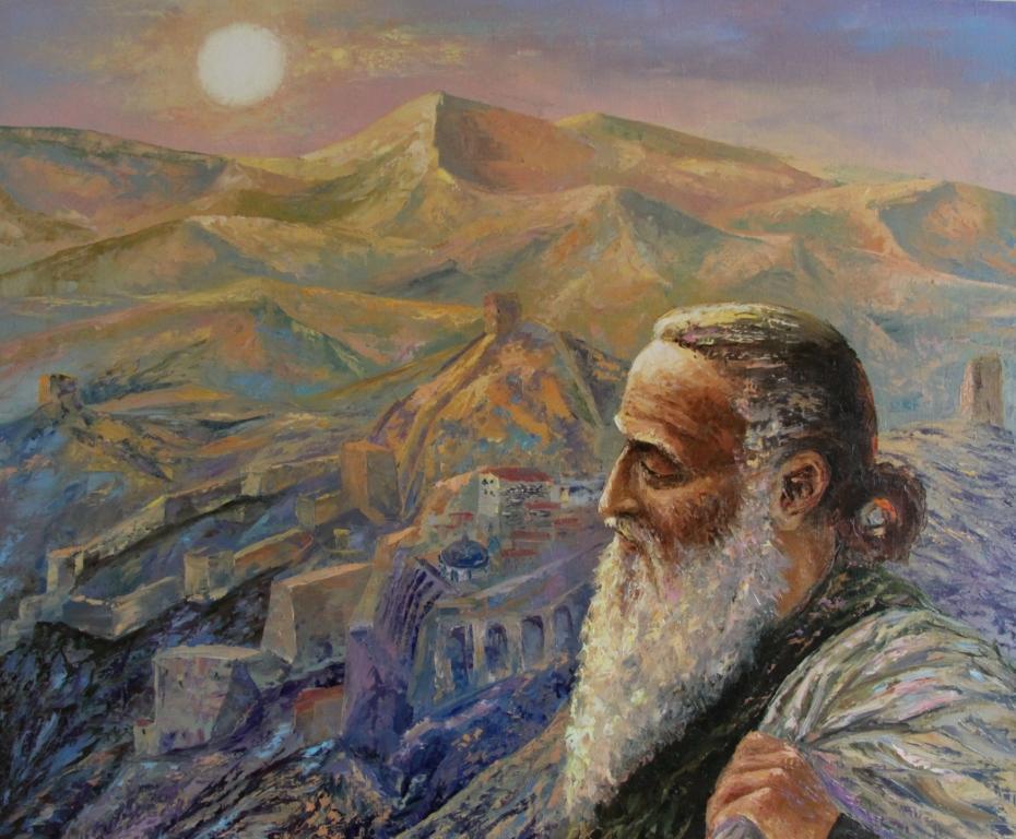 картина иоанн дамаскин