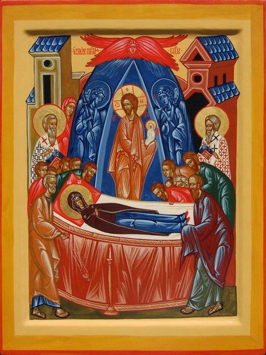 икона успению пресвятой богородицы