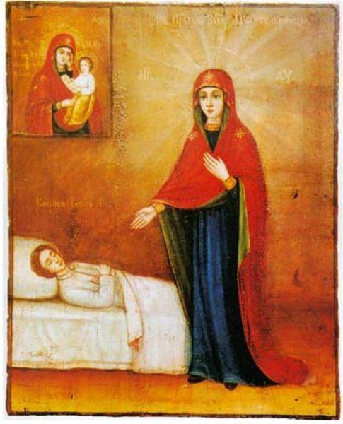 икона «Целительница»