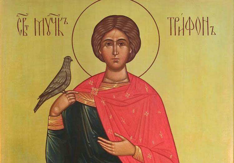 икона Святой Трифон