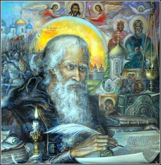 святой литописец