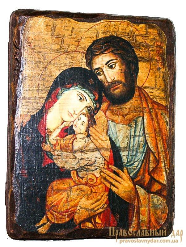 святое семейство икона