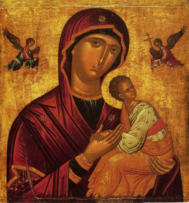 страстная икона божией матери