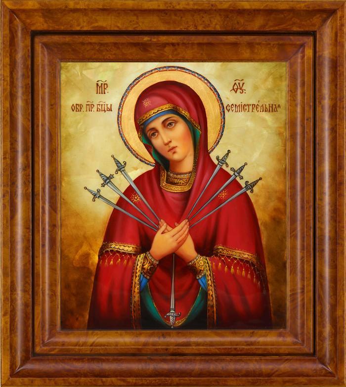 Семистрельная икона Божьей Матери