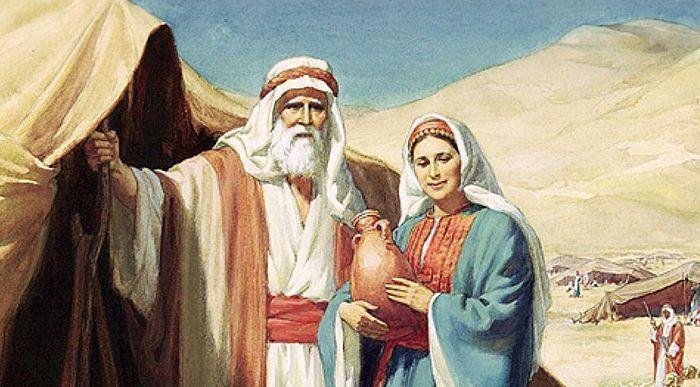 авраам пророк и сарра