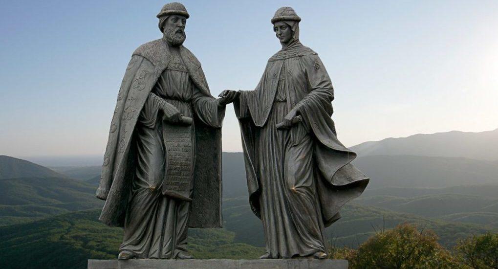 памятник святых
