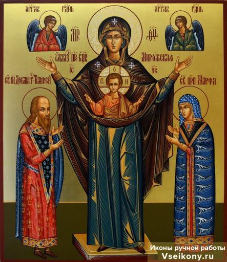 икона божией матери мирожская