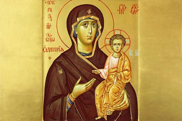 иконе божией матери одигитрия