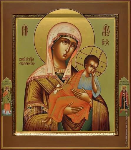 икона божией матери старорусская