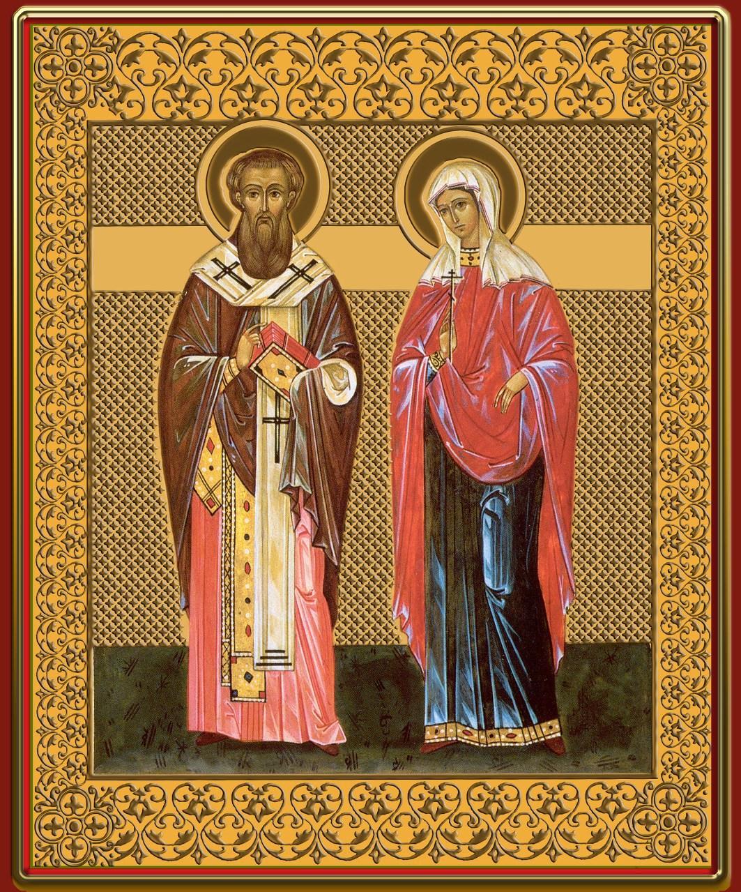 икона киприану и иустине