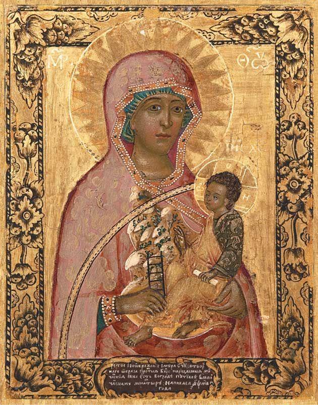 икона божией матери молченская