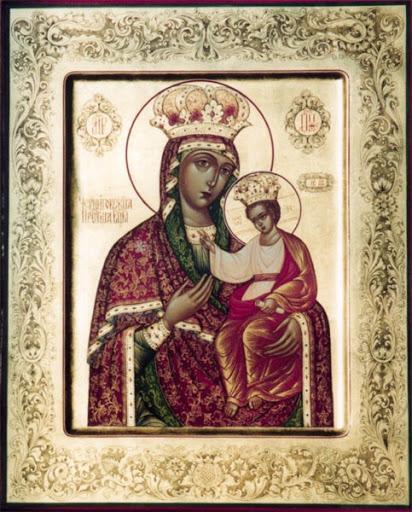 черниговская гефсиманская икона божией матери