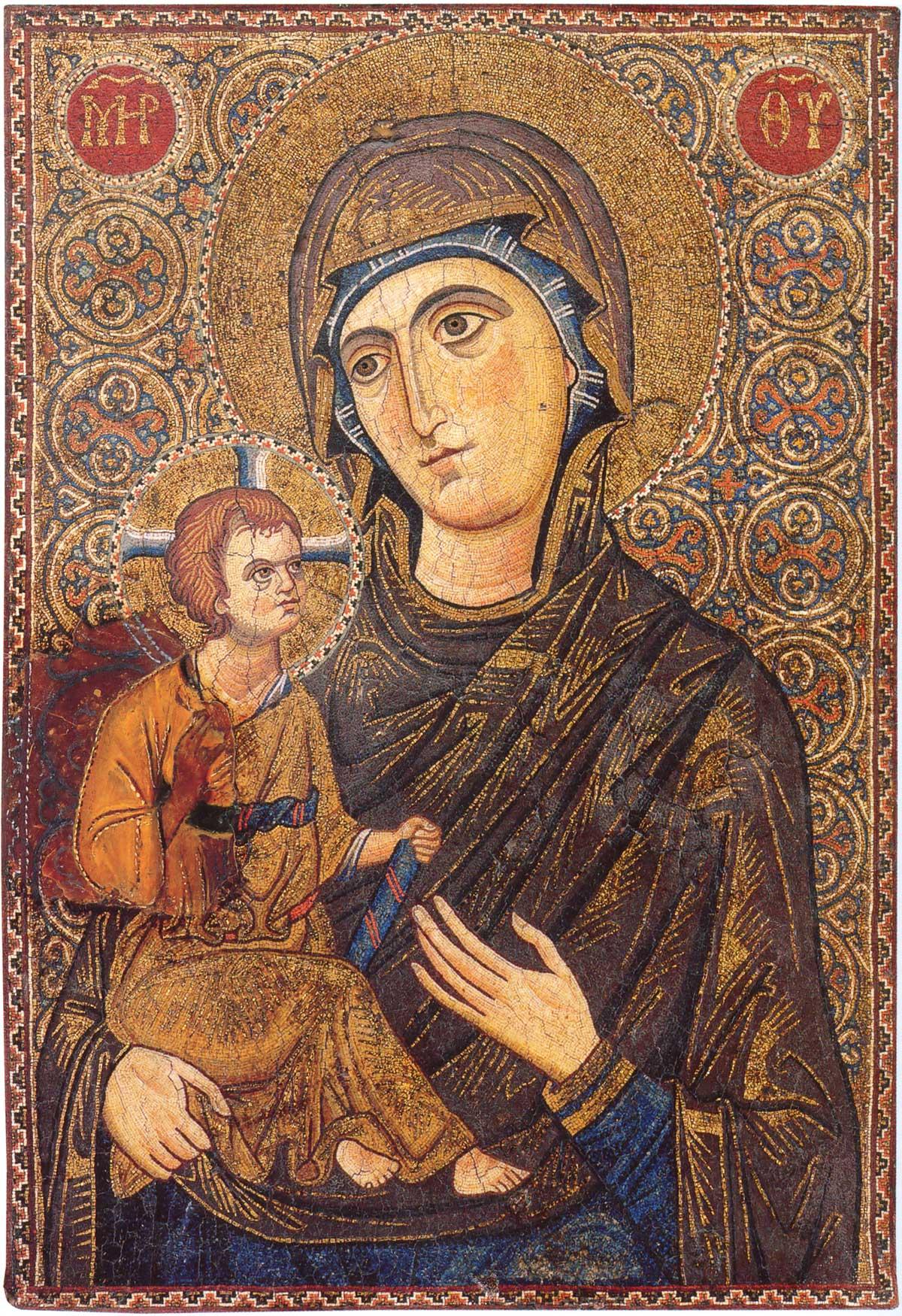 икона византийская