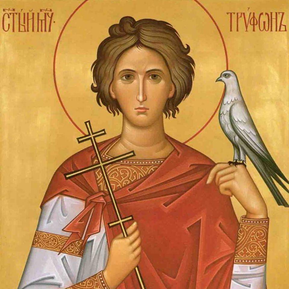 икона трифону мученику