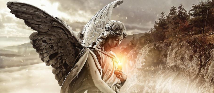 ангел и свет