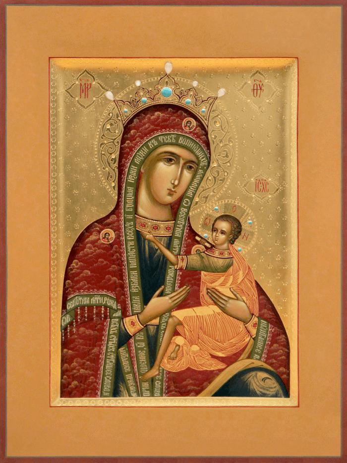 арапетская икона божией матери