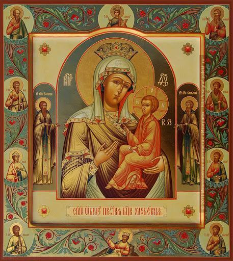 икона хлебная
