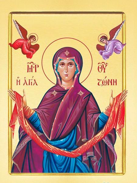 икона пояс пресвятой богородицы