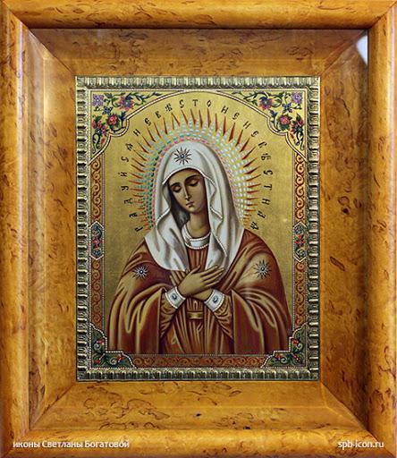 икона невеста Неневестная