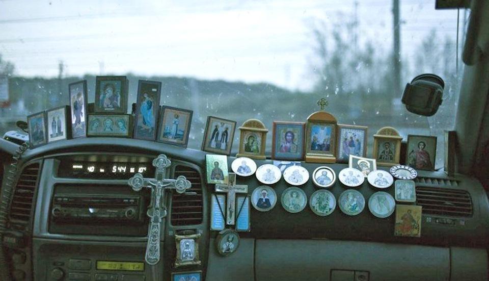 иконы в машину
