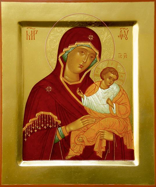 коневская икона божией матери