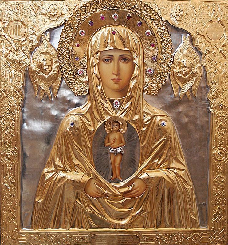 икона божией матери албазинская