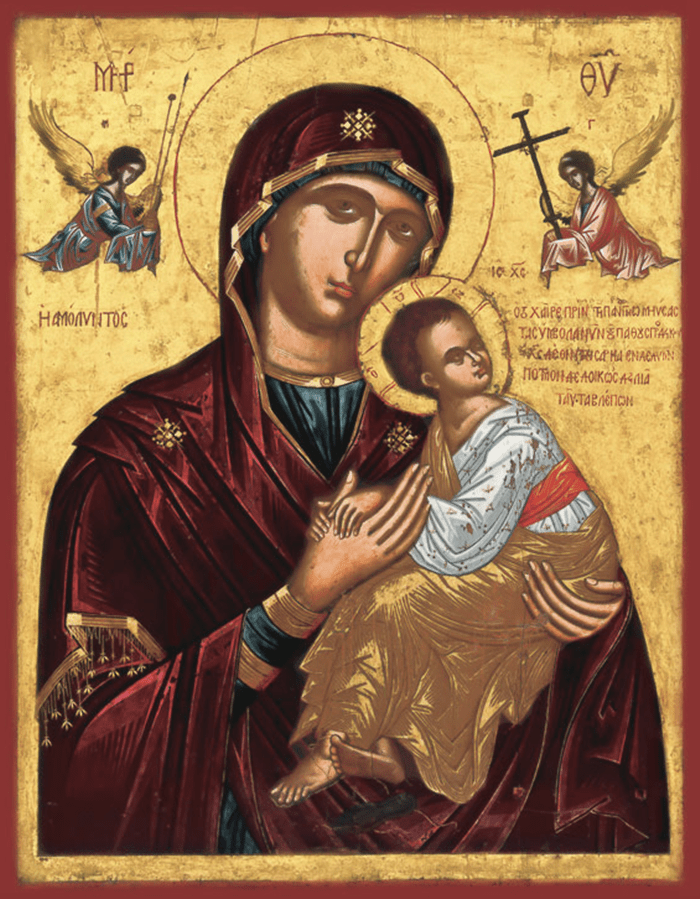 акафист страстной иконе божией матери