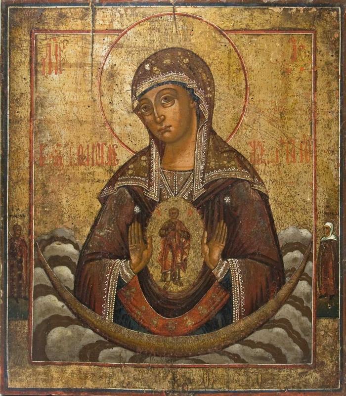Икона помощница в родах фото