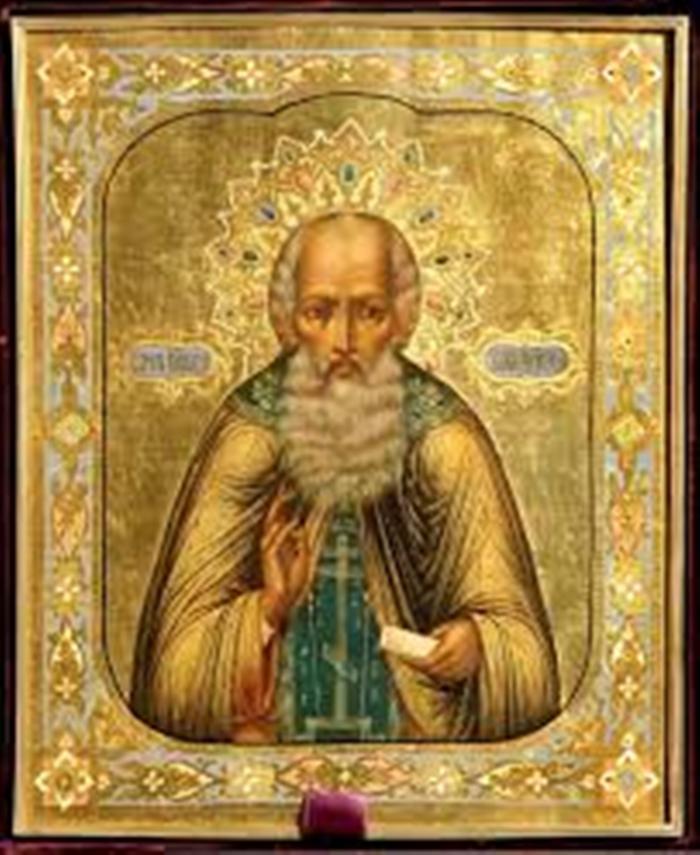 Икона савве сторожевскому